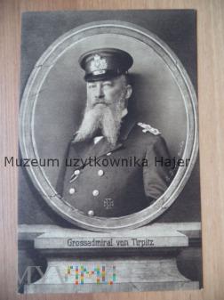 Grossadmirał von Tirpitz - krzyż żelazny