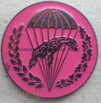 Odznaka spadochronowa WPD 6 PDPD różowa inna
