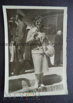 Zdjęcie żołnierza LWP Poznań MTP 1958
