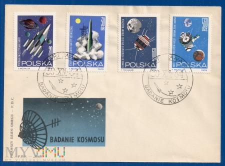 Badanie kosmosu.30.12.1964