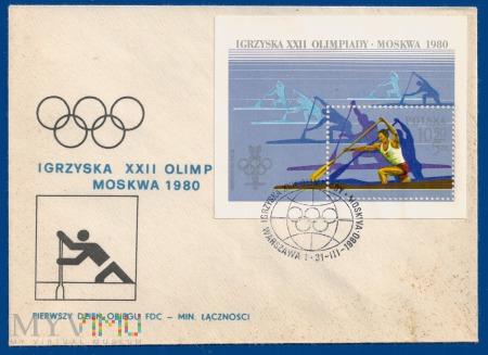 XXII Igrzyska Olimpijskie w Moskwie.31.3.1980.c