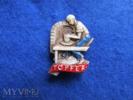 Odznaki-Ludzie Pracy seria KWHW