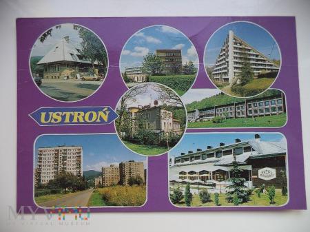 USTROŃ Dworzec kolejowy.Szpital Reumatolog