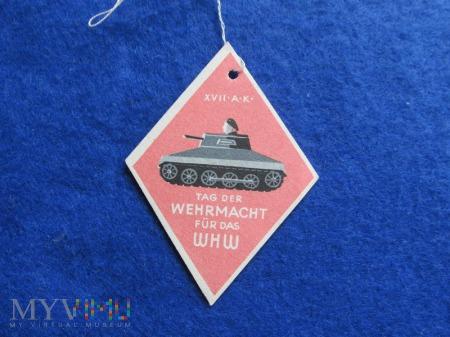 Winterhilfswerk-zawieszki tekturowe WHW