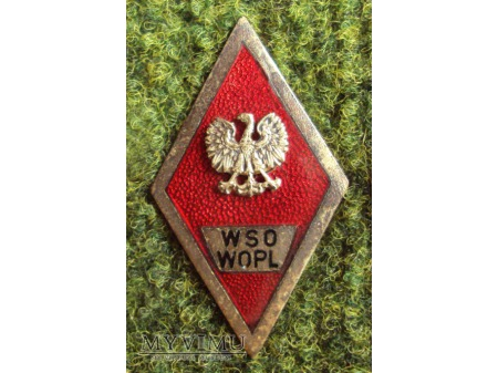Odznaka WSO WOPL