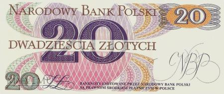 20 Złotych, 1982 rok.