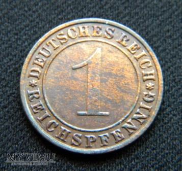 Duże zdjęcie 1 Reichspfennig 1935