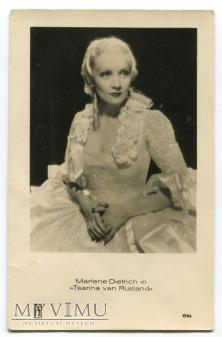 Marlene Dietrich MARLENA JOSPE Holandia nr 614
