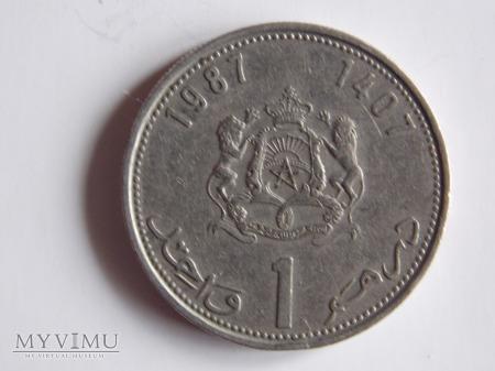1 DIRHAM 1987-1407- MAROKO