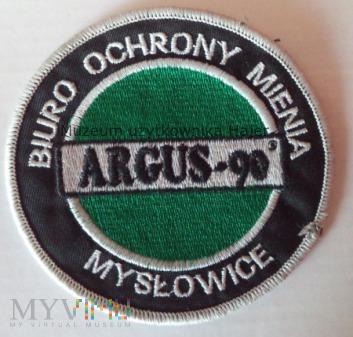 ARGUS-90 MYSŁOWICE BIURO OCHRONY MIENIA