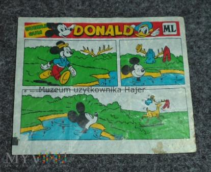 Donald guma do żucia Historyjka obrazkowa PRL