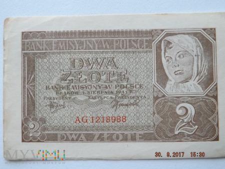 Dwa Złote - 1941r.
