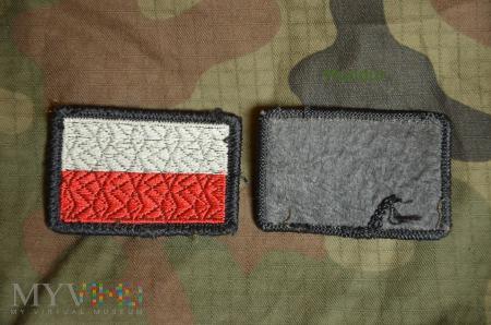 Oznaka przynależności państwowej - flaga RP