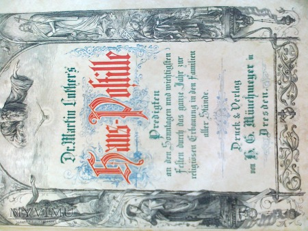 KSIAZKA Z 1896 MARTIN LUTHER
