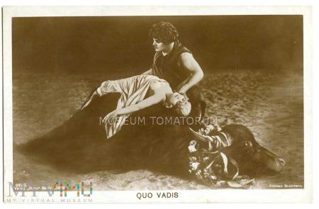 Quo Vadis - Ligia na byku - film