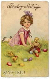 1958 Wielkanoc Wesołego Alleluja