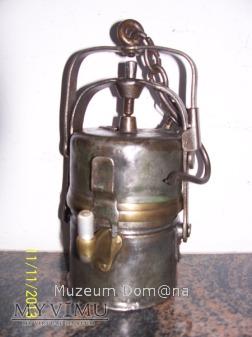 LAMPA GÓRNICZA KARBIDOWA TYP 850kz - 1927 rok