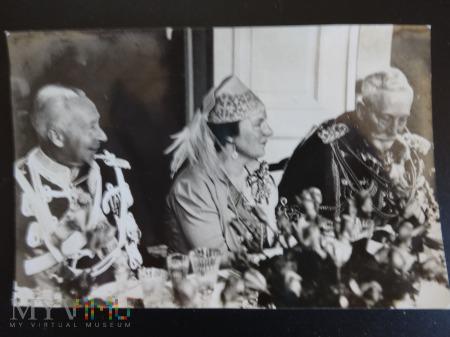 Królewskie przyjęcie w Doorn 4 maj 1938r