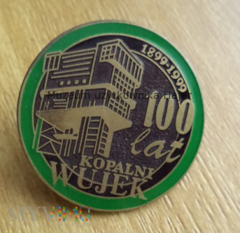 Kopalnia Wujek 100 lat KWK odznaka
