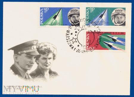 Drugi zespołowy lot kosmiczny.26.8.1963