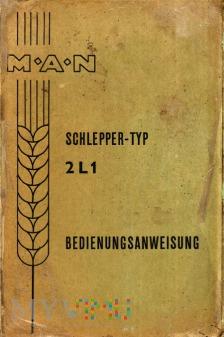 MAN Schlepper-Typ 2L1 - Bedienungsanweisung