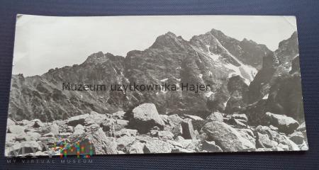Duże zdjęcie TATRY - Rysy z doliny za Mnichem