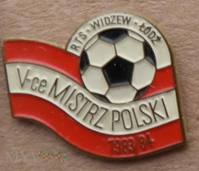 Widzew Łódź 19 - V-ce Mistrz Polski 84