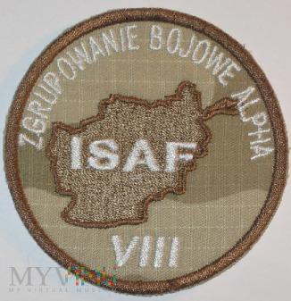 GB ALPHA PKW ISAF Afganistan VIII zmiana.