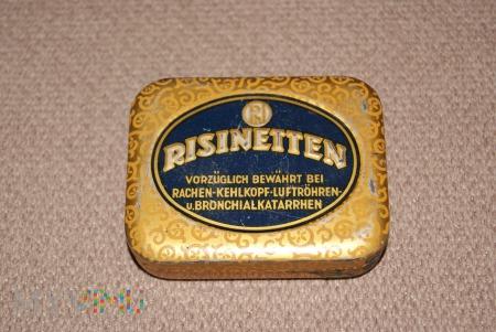 Niemieckie pudełko po tabletkach RISINETTEN