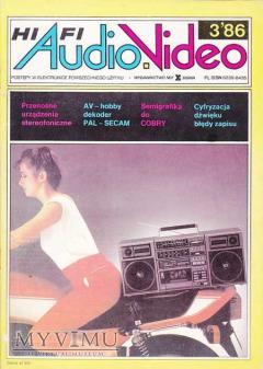 AUDIO Hi-Fi VIDEO 1986 rok.