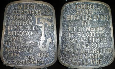 099. Pamięci załogi Liberatora EV 961 RAF