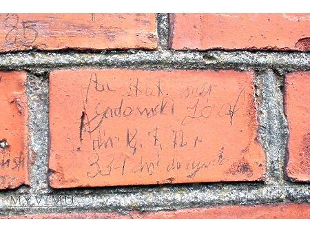 """Duże zdjęcie """"Stara Prochownia"""" - budynek A - inskrypcja #041"""