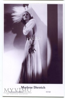 Marlene Dietrich Swiftsure Postcards 17/12