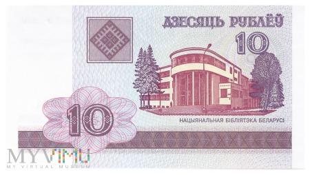 Białoruś - 10 rubli (2000)