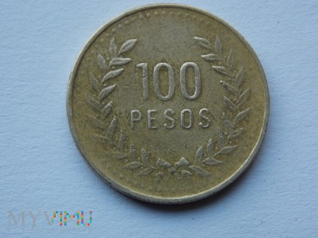 10 PESOS 1993 - KOLUMBIA