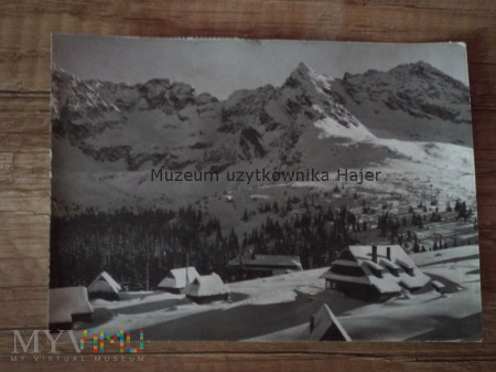 TATRY - Hala Gąsienicowa i panorama Tatr