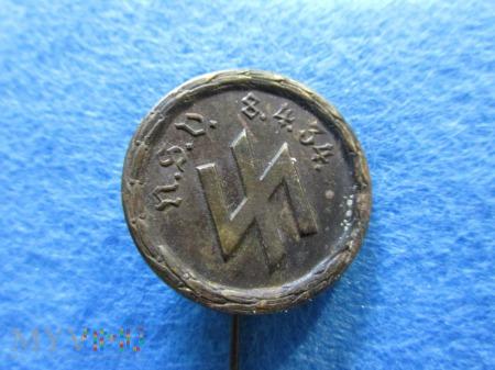 Schutzstaffel dla NSV-odznaka zbiórki charytatywne