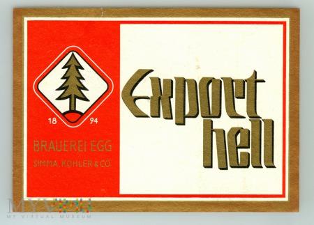 Duże zdjęcie Export hell