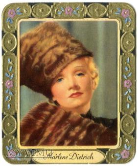 Marlene Dietrich GARBATY Papierosy KurMark 1934