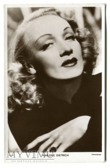 Marlene Dietrich Picturegoer nr W 340