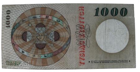 1000 złotych 1965 rok.
