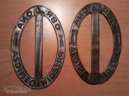 Odznaki klamry z opaski LOPP