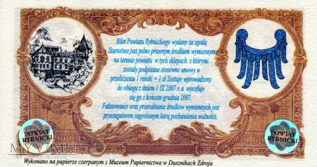 50 Złotych Reńskich - Powiat Rybnicki