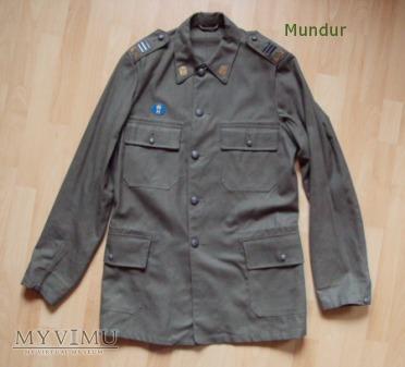 Szwecja; mundur drelichowy hemvärnet