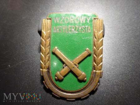 Wzorowy Żołnierz Specjalista - Artylerzysta z 1951