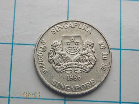 20 CENTÓW 1986 - SINGAPUR