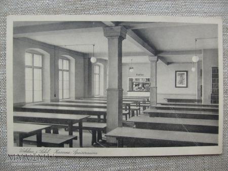 Wohlau I. Schl. Kaserne - Speiseraum - Koszary