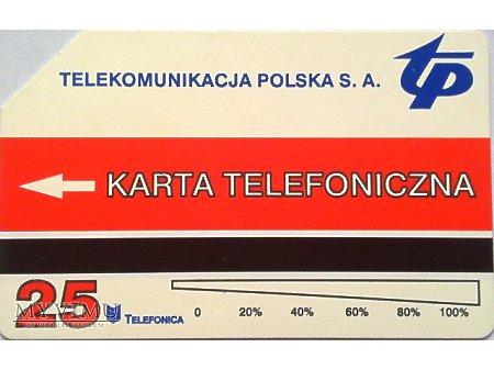 karta telefoniczna 269