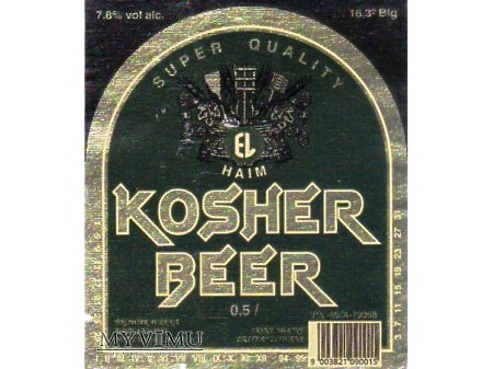 Etykieta KOSHER 24
