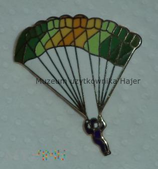 Odznaka wpinka skoczka spadochronowego